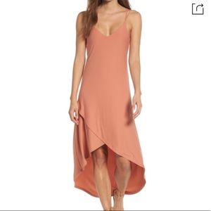 Nordstrom Love, Fire Strappy High Low Dress